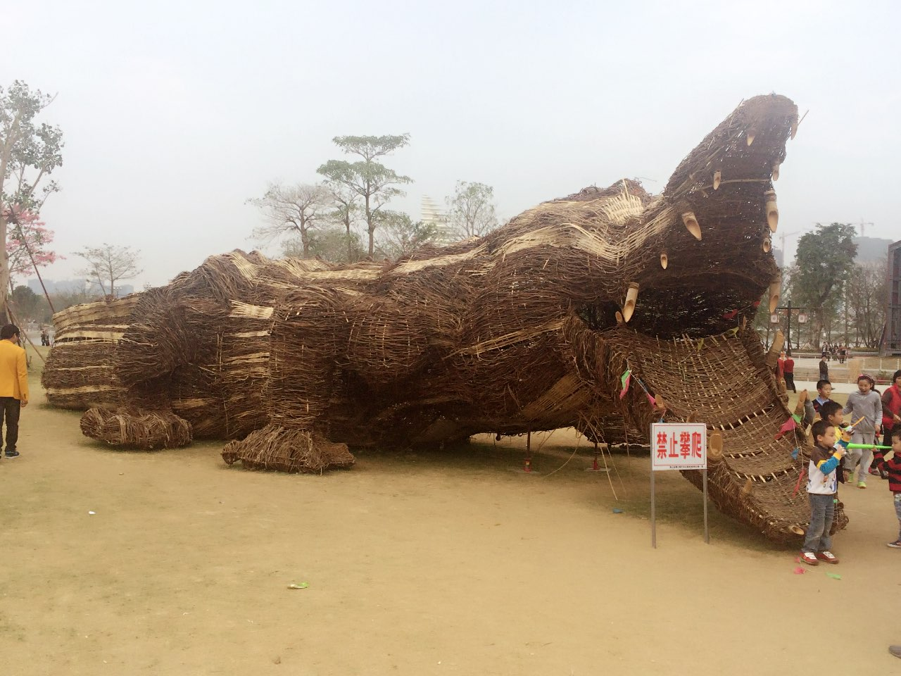 海丝巨鳄-摄于泉州海丝文化公园